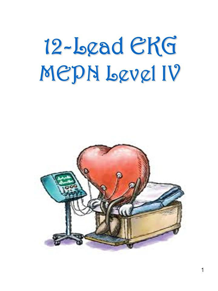 12-Lead EKG MEPN Level IV