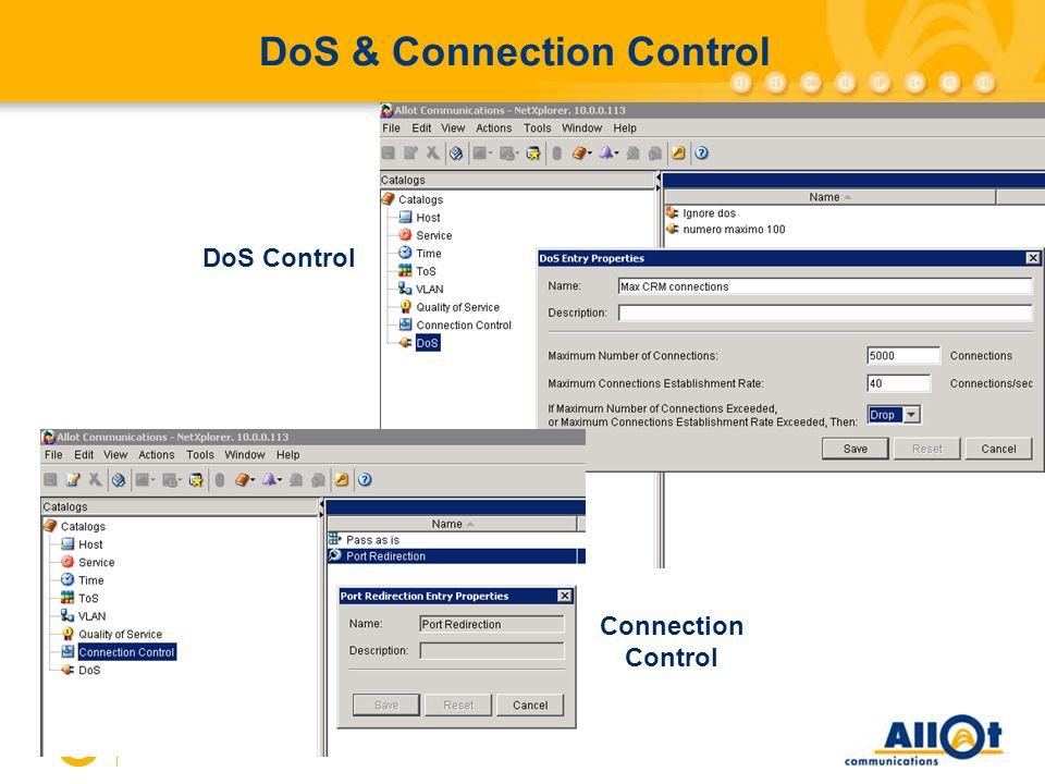 DoS & Connection Control