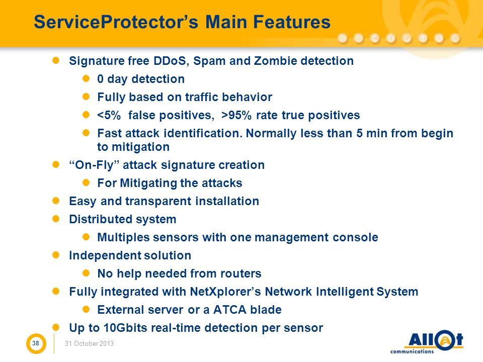 ServiceProtector's Main Features