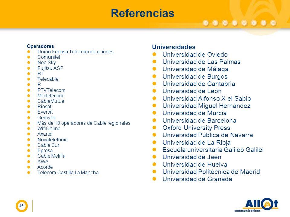 Referencias Universidades Universidad de Oviedo