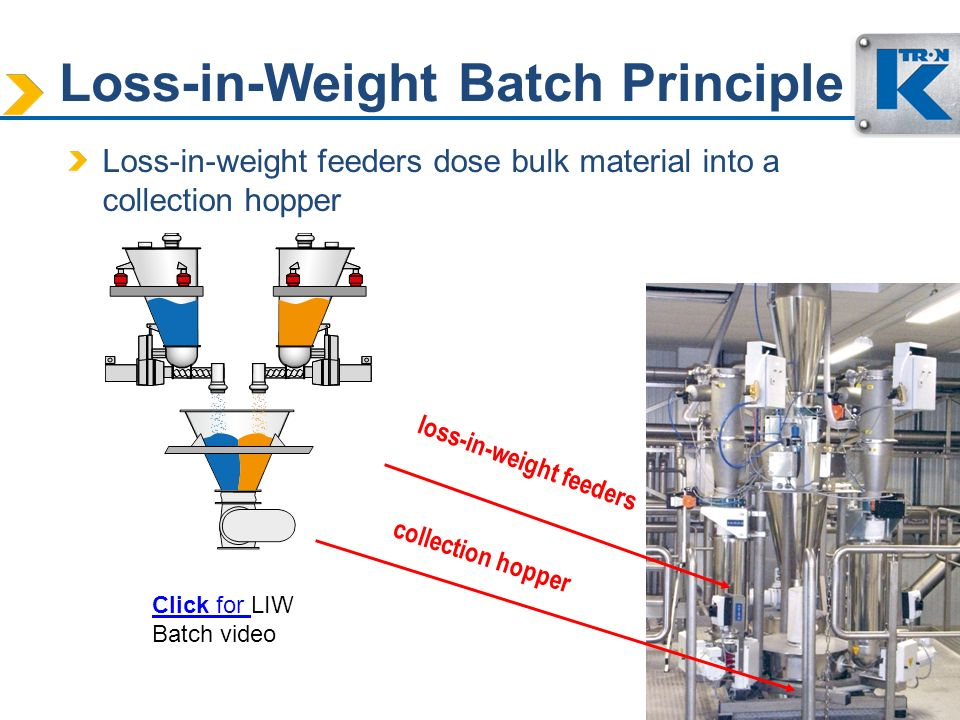 Loss-in-Weight Batch Principle