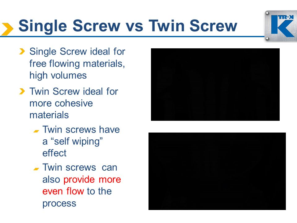 Single Screw vs Twin Screw