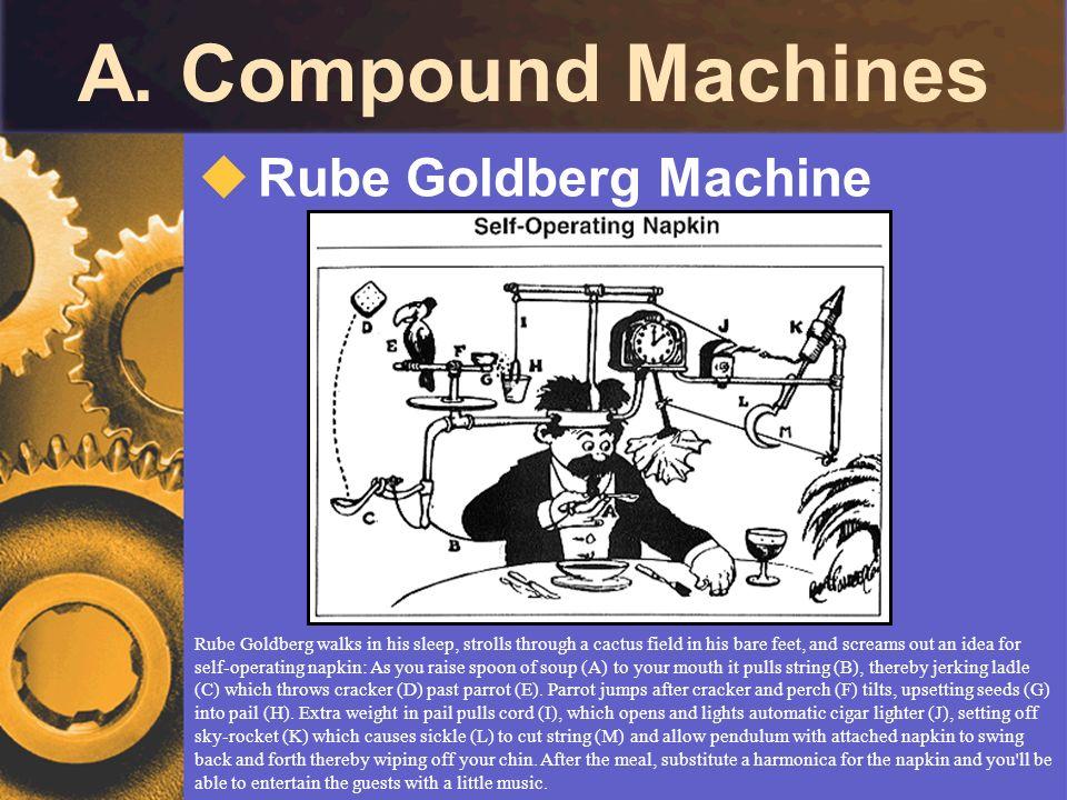 A. Compound Machines Rube Goldberg Machine