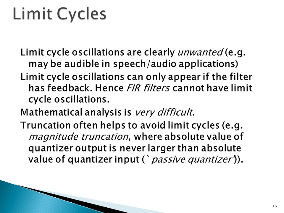 Limit Cycles