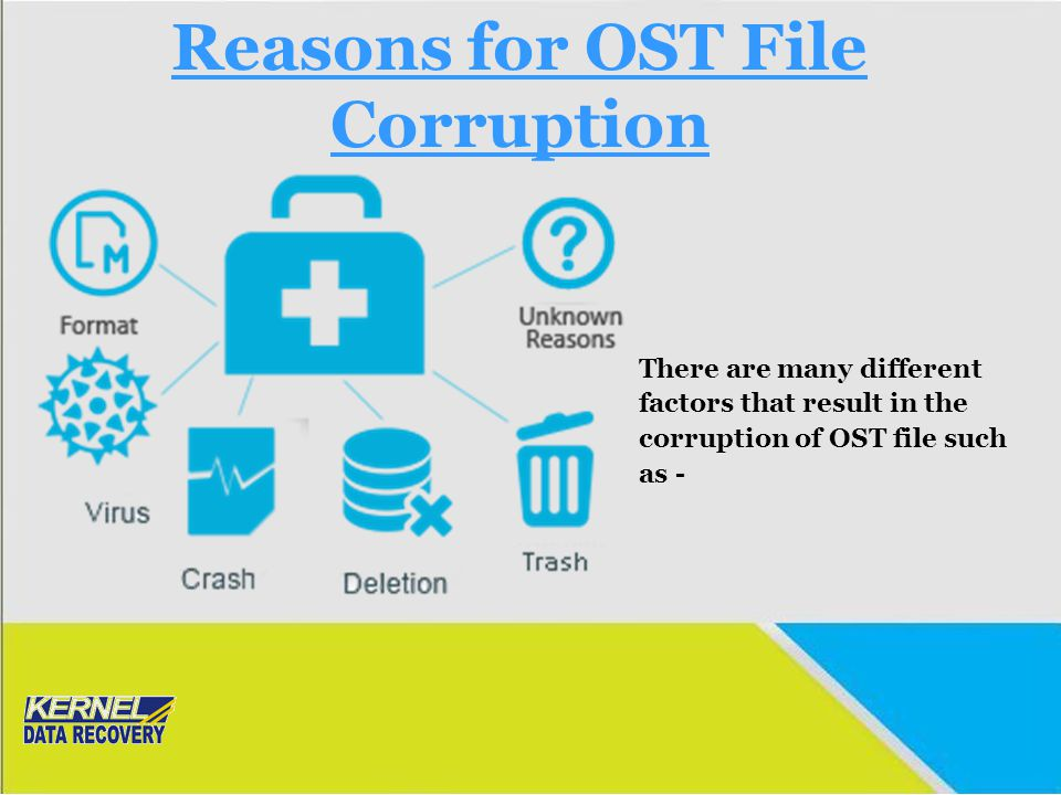Reasons for OST File Corruption