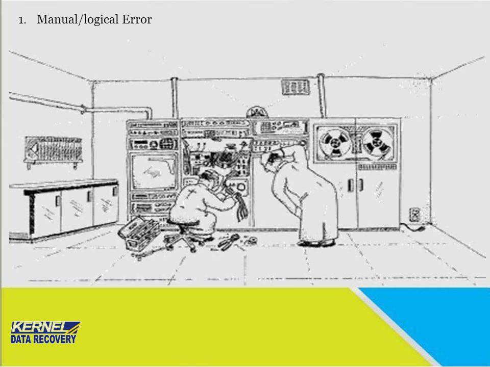 Manual/logical Error