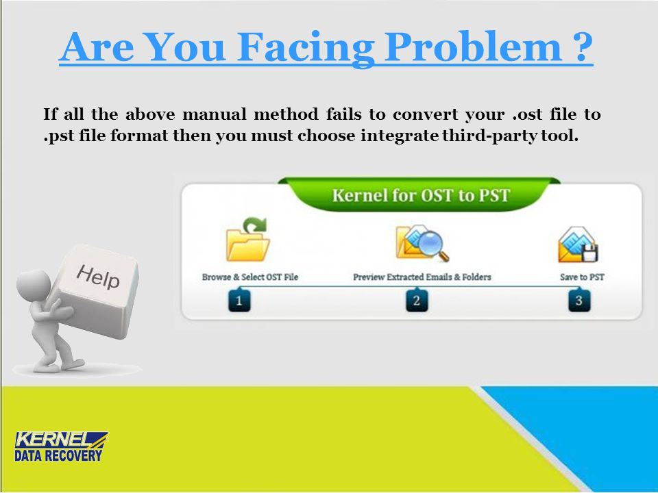 Are You Facing Problem