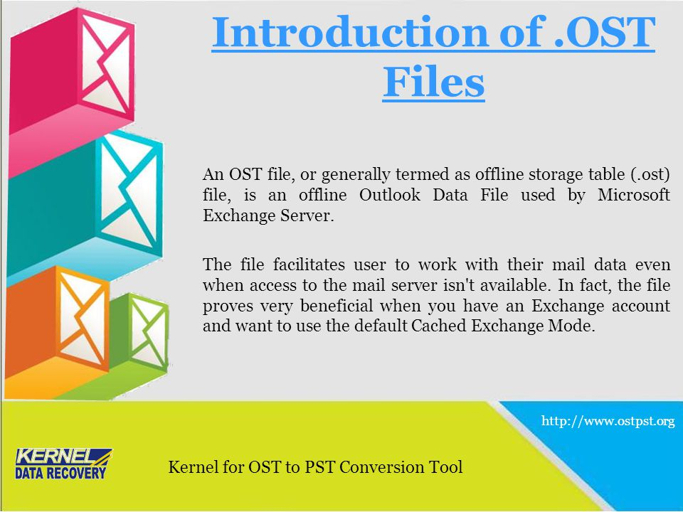 Introduction of .OST Files