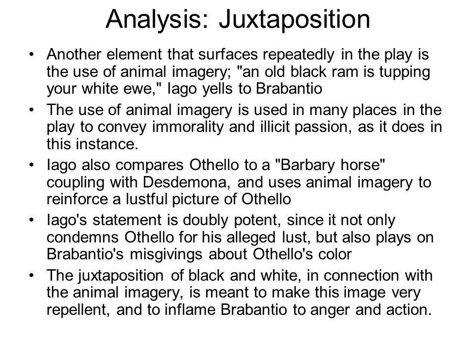Analysis: Juxtaposition