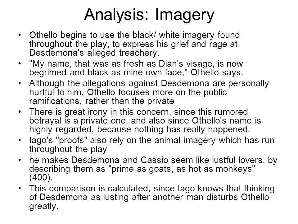 Analysis: Imagery