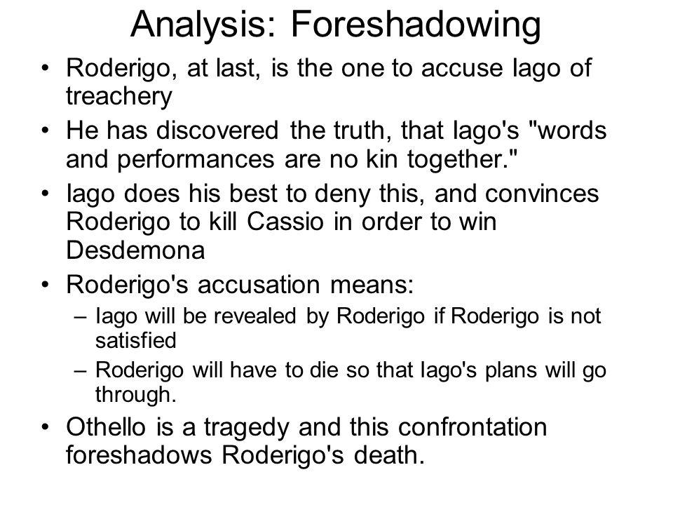 Analysis: Foreshadowing