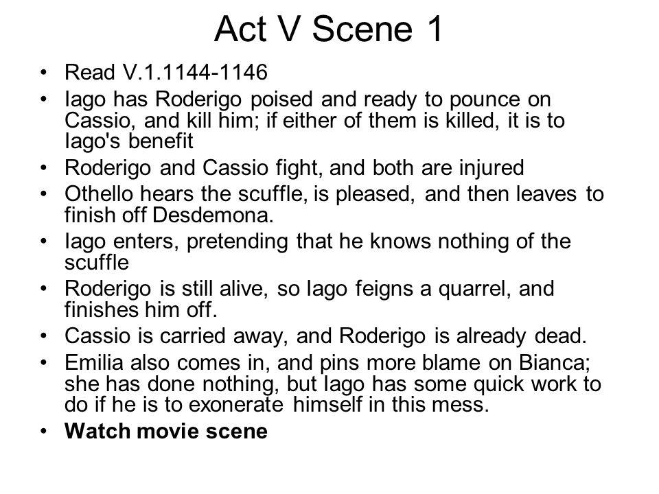 Act V Scene 1 Read V.1.1144-1146.
