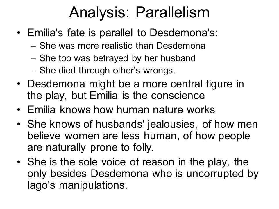 Analysis: Parallelism