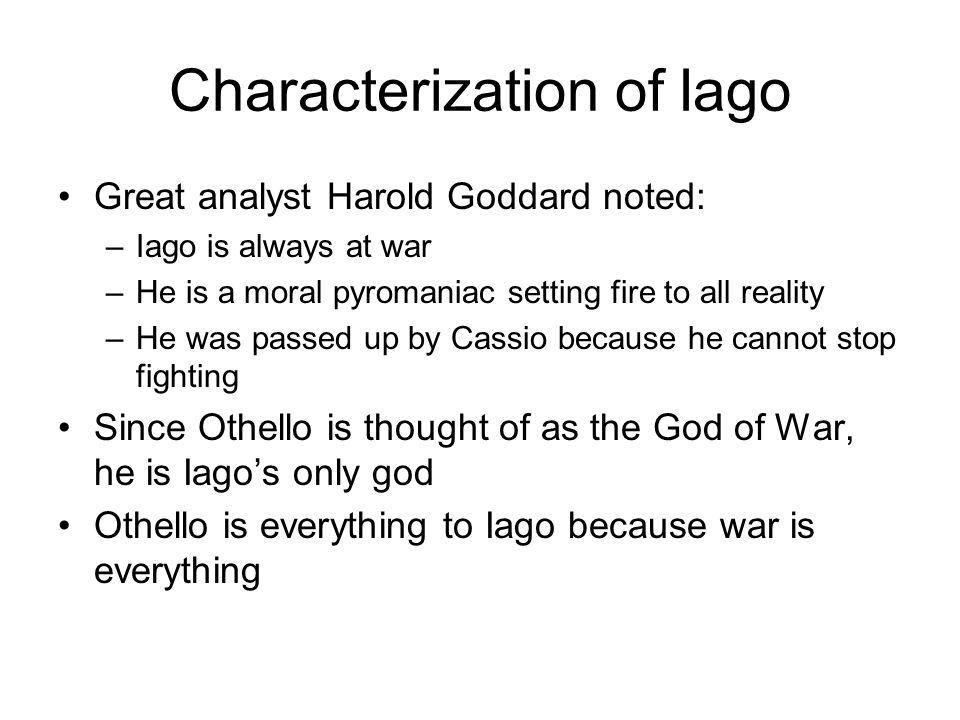 Characterization of Iago