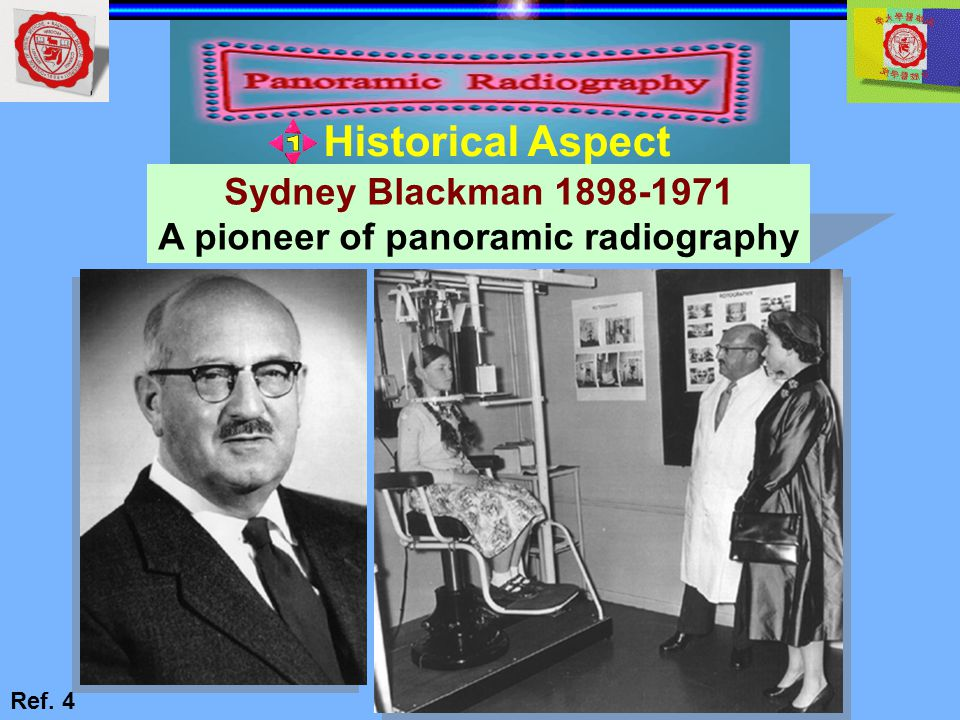 A pioneer of panoramic radiography