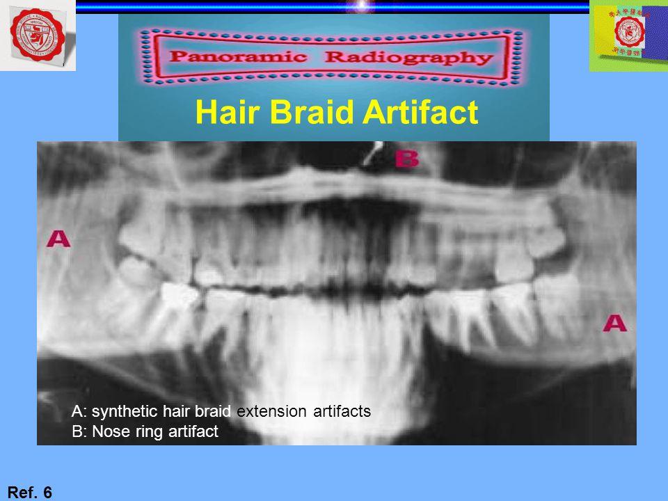 Hair Braid Artifact A: synthetic hair braid extension artifacts