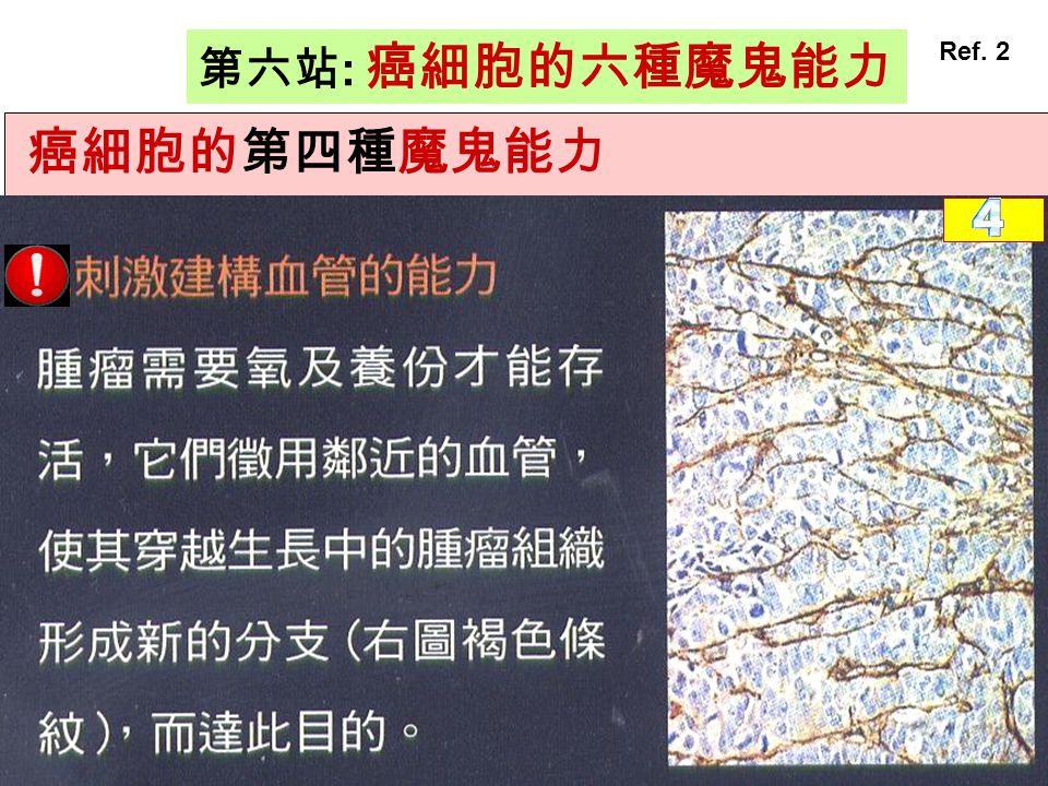 第六站: 癌細胞的六種魔鬼能力 Ref. 2 癌細胞的第四種魔鬼能力