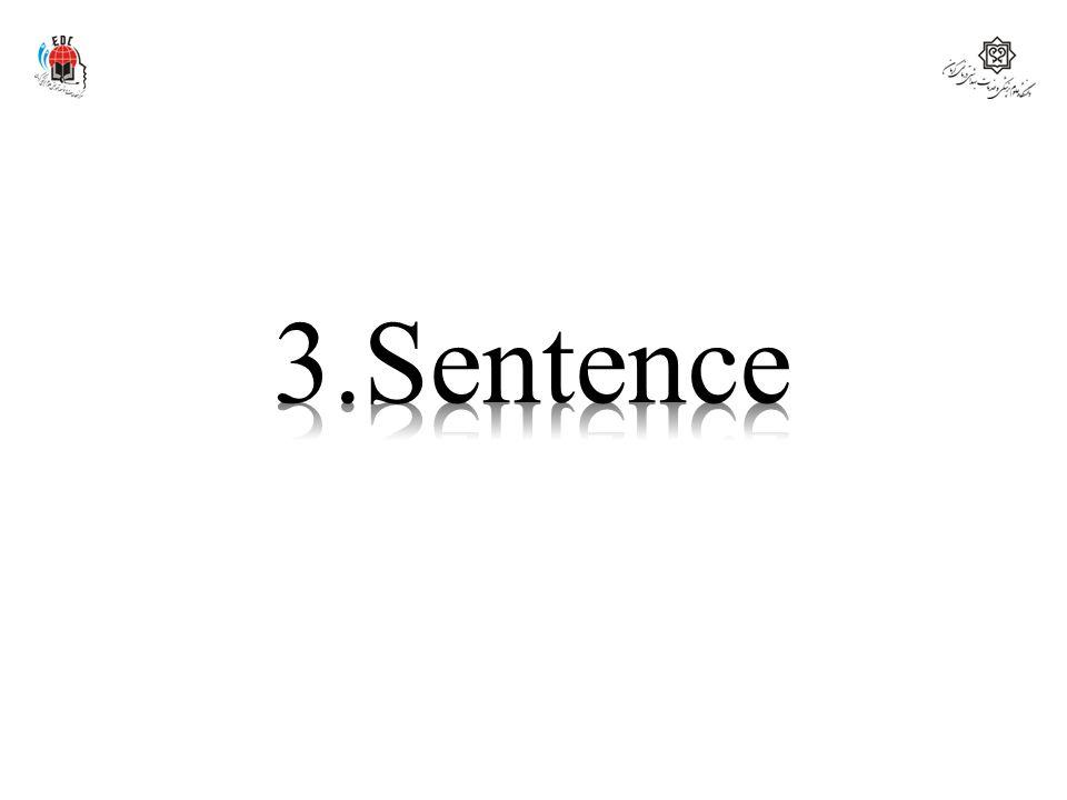 3.Sentence