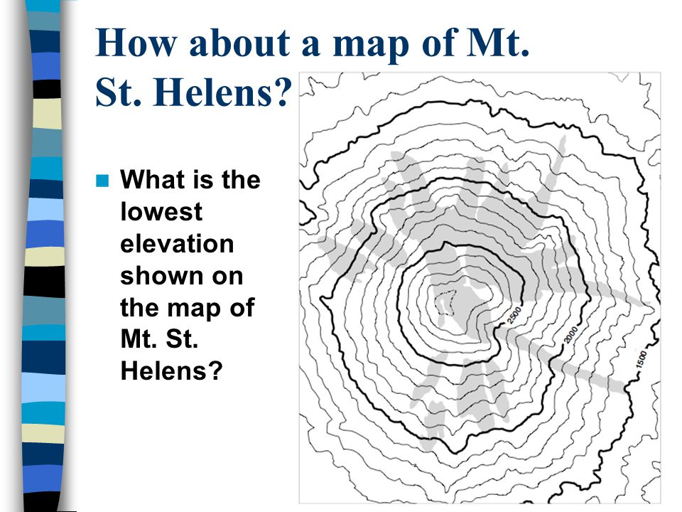 How about a map of Mt. St. Helens
