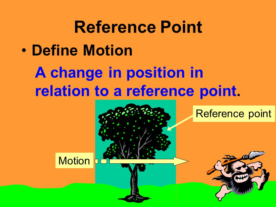 Reference Point Define Motion