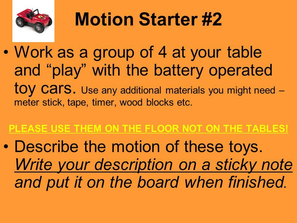 Motion Starter #2