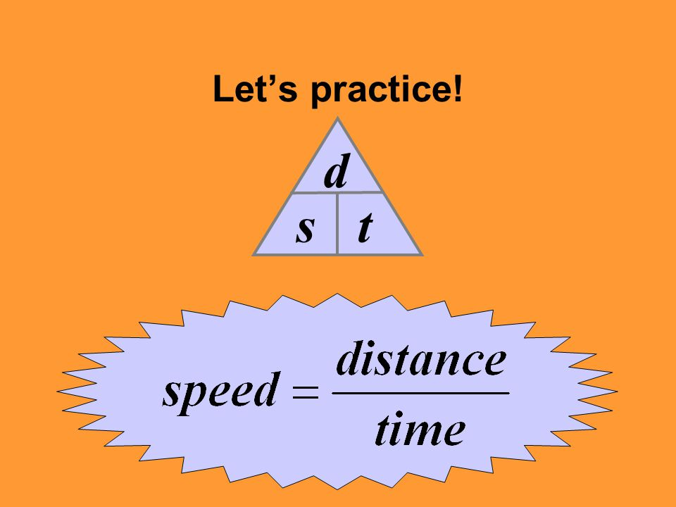 Let's practice! s d t