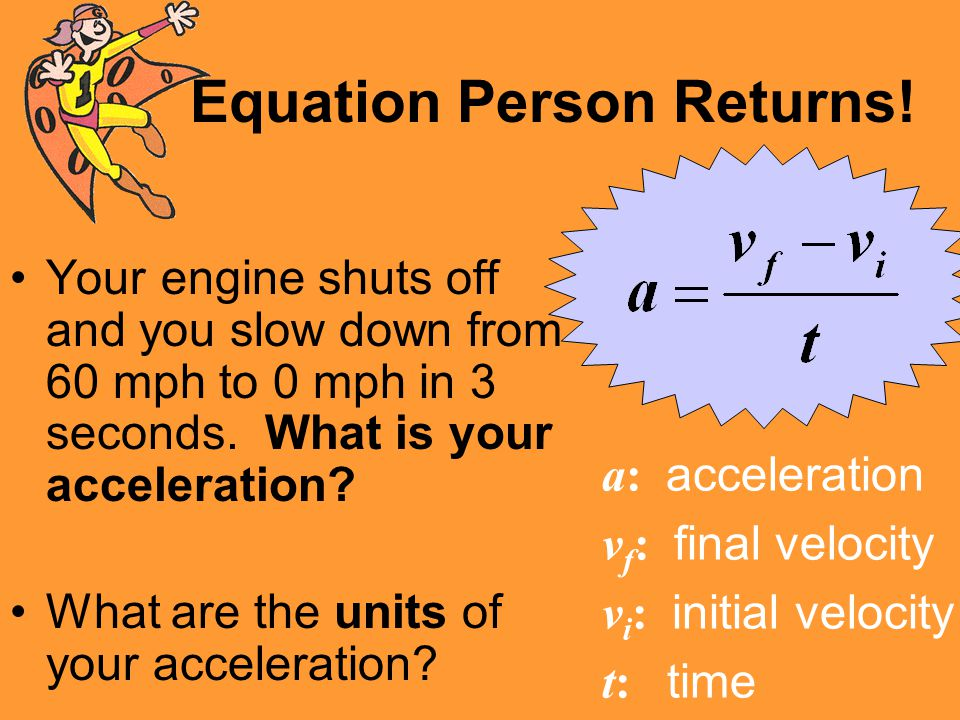 Equation Person Returns!