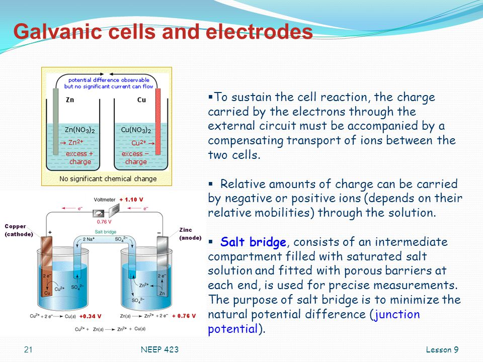 Galvanic cells and electrodes