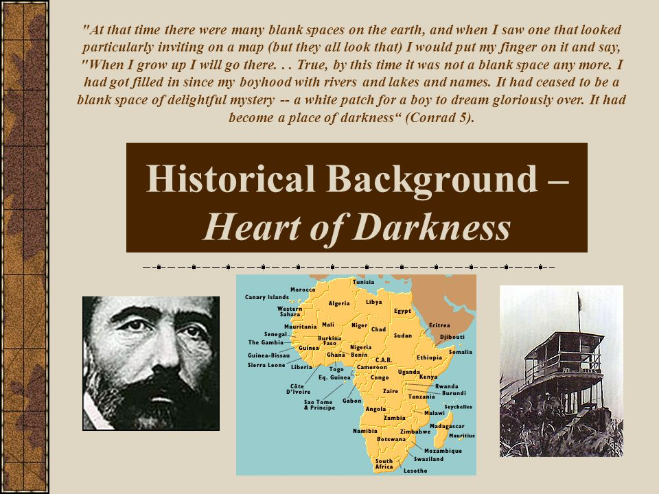 Historical Background – Heart of Darkness