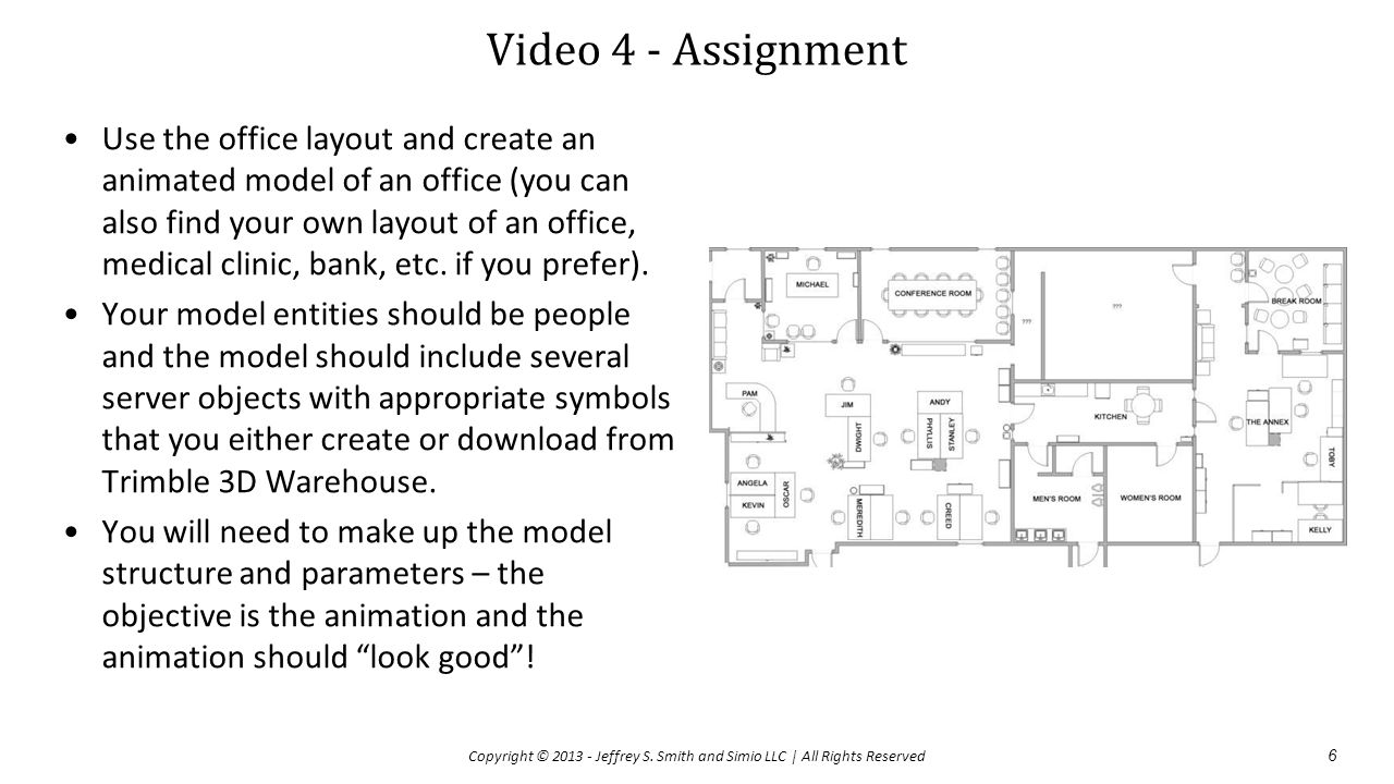 Video 4 - Assignment