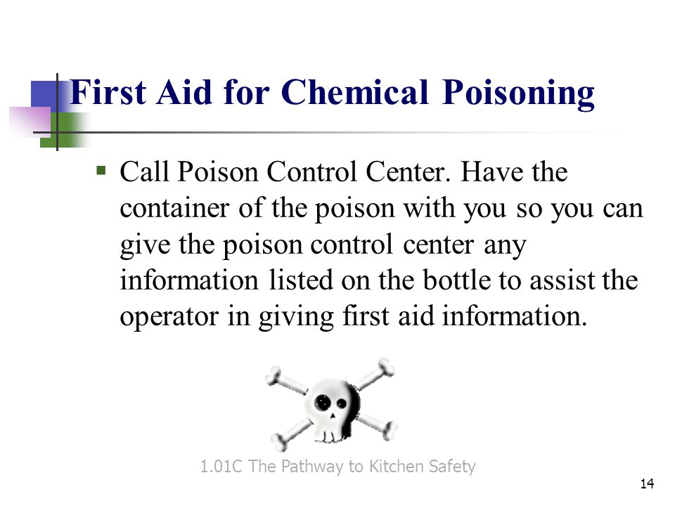 First Aid for Chemical Poisoning