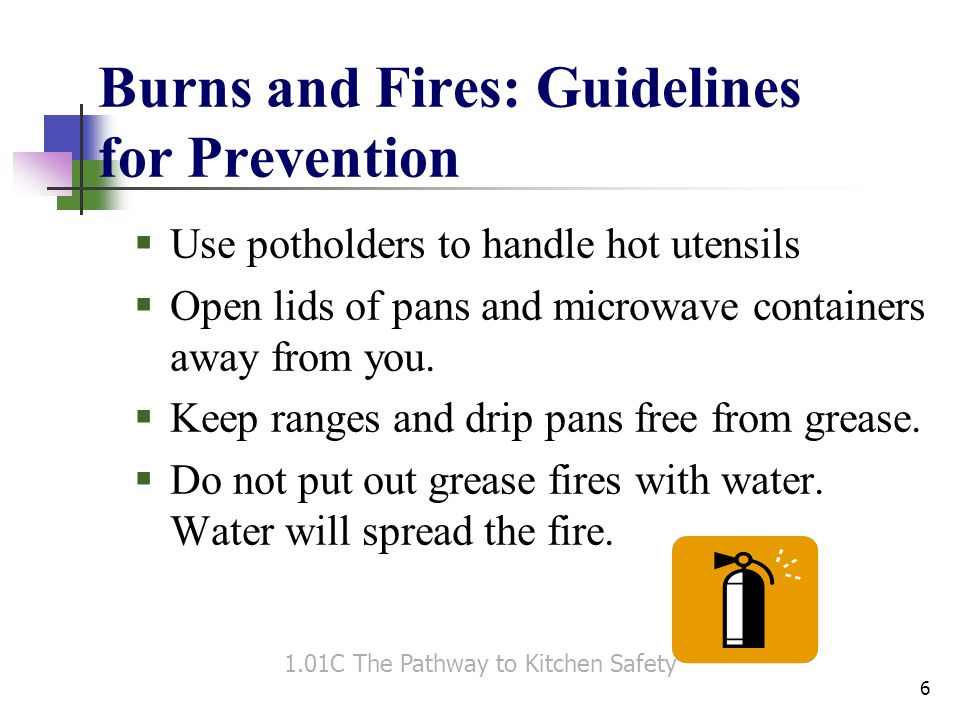 Burns and Fires: Guidelines for Prevention