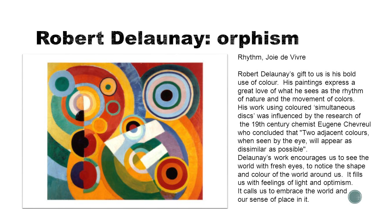 Robert Delaunay: orphism