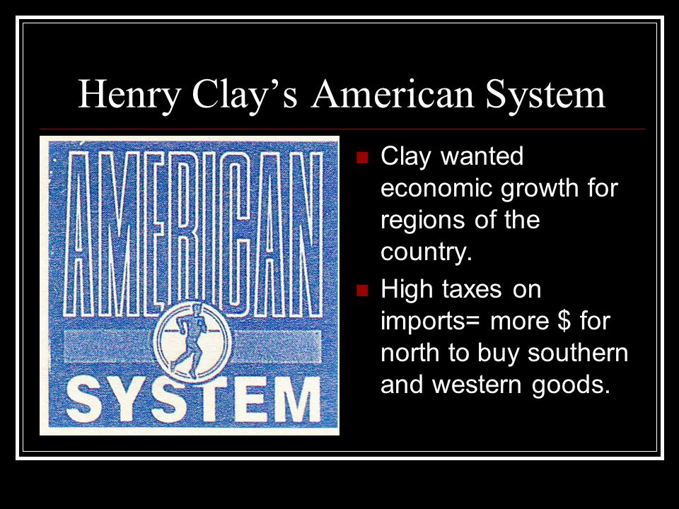 "The 1824 ""American System"" Speech By Speaker Henry Clay of Kentucky"