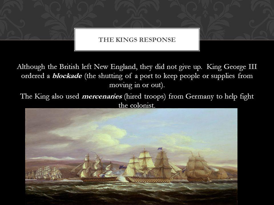 The Kings Response