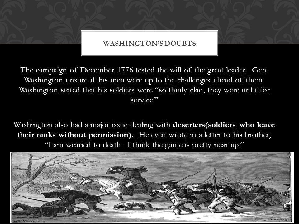 Washington's Doubts
