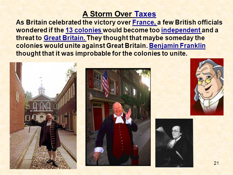 A Storm Over Taxes