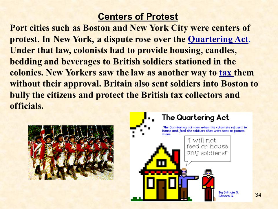 Centers of Protest