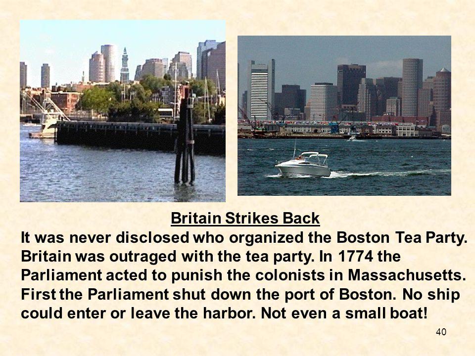 Britain Strikes Back