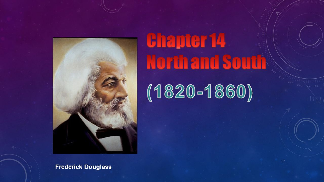 Chapter 14 North and South (1820-1860) Frederick Douglass