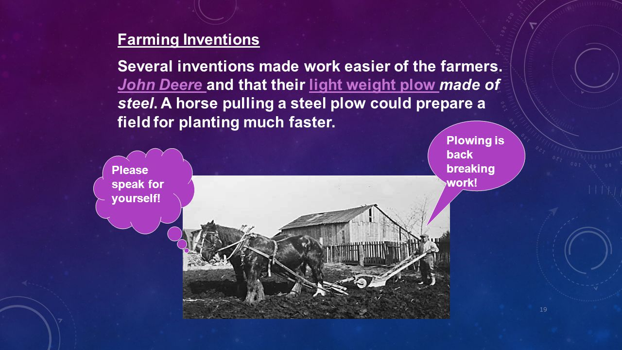 Farming Inventions