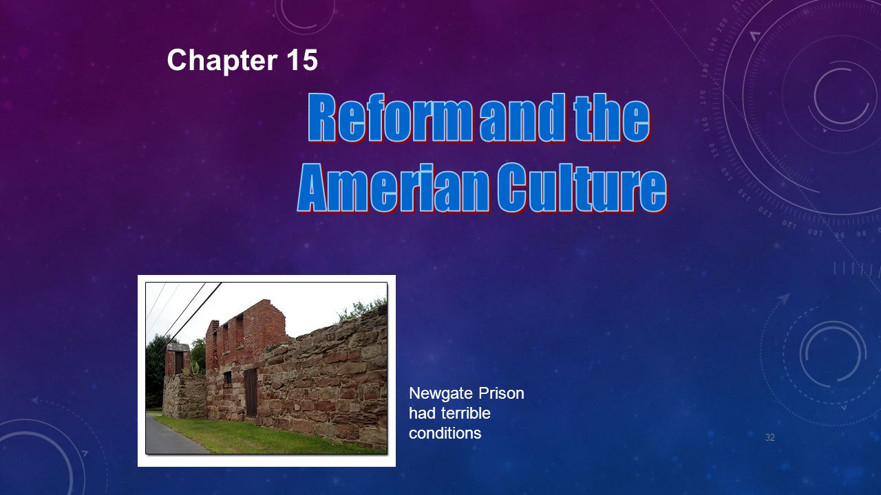 Reform and the Amerian Culture