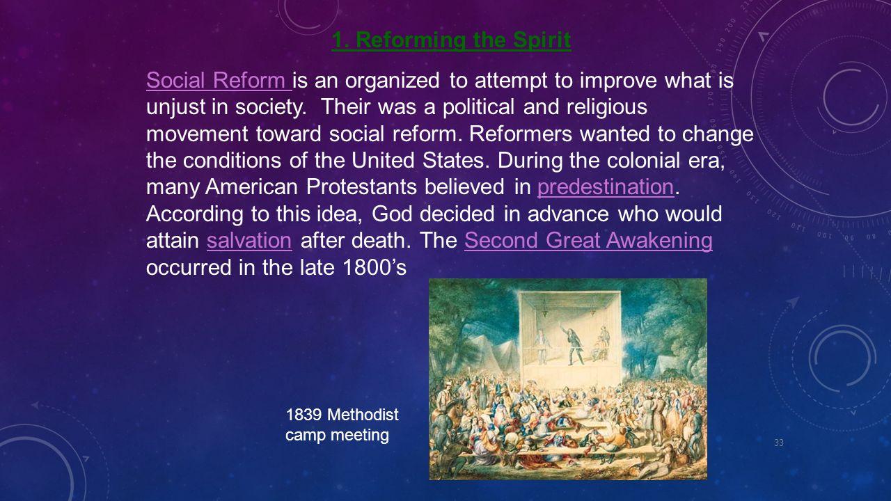 1. Reforming the Spirit