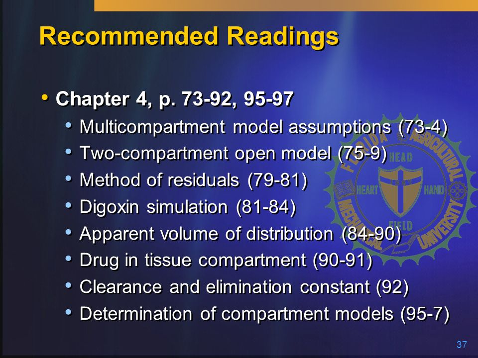 Recommended Readings Chapter 4, p. 73-92, 95-97