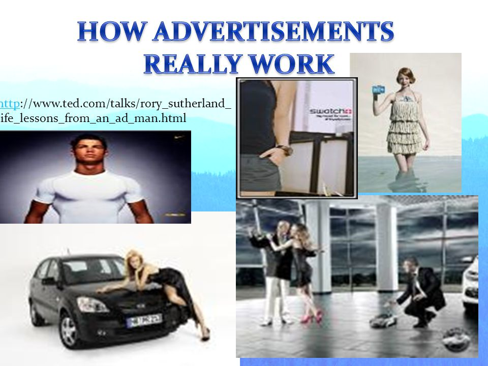 HOW ADVERTISEMENTS REALLY WORK