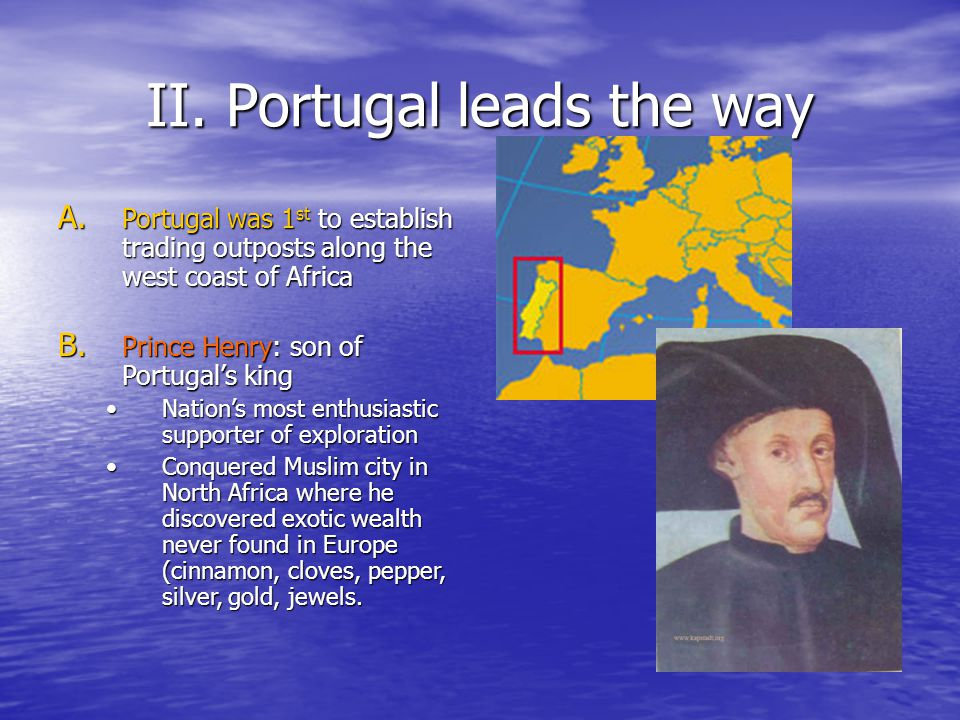 II. Portugal leads the way