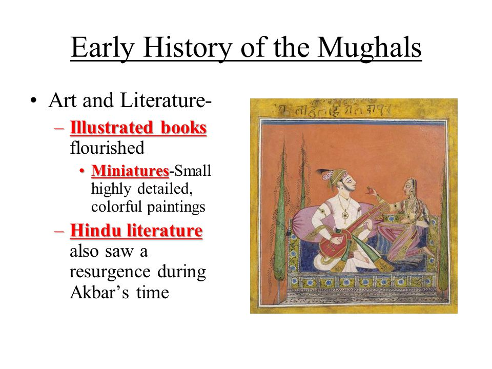 Early History of the Mughals