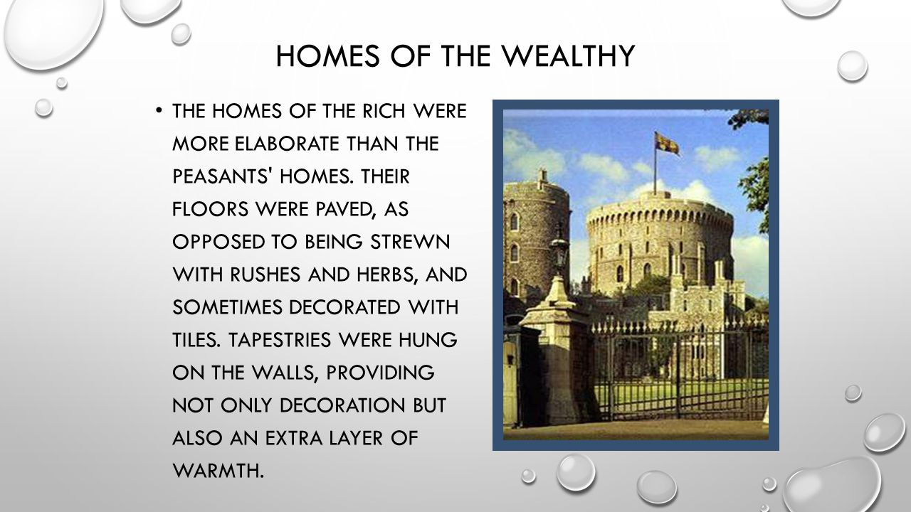 Homes of the Wealthy
