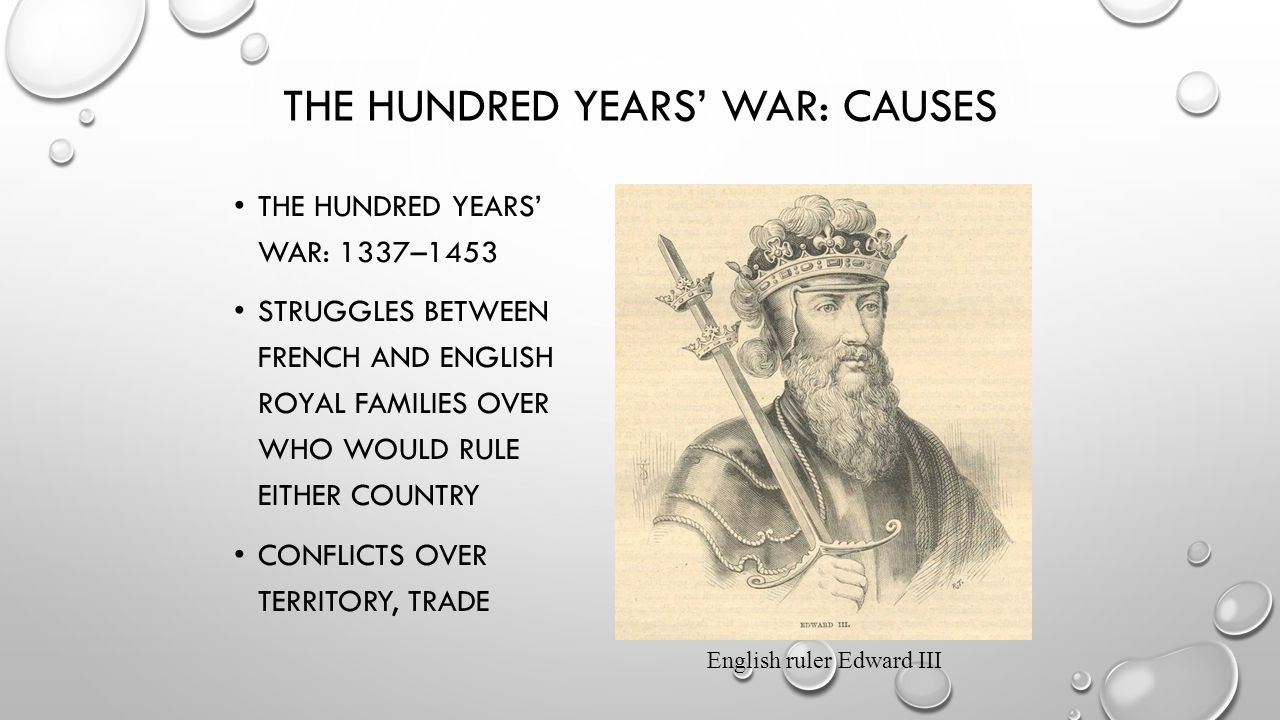 The Hundred Years' War: Causes