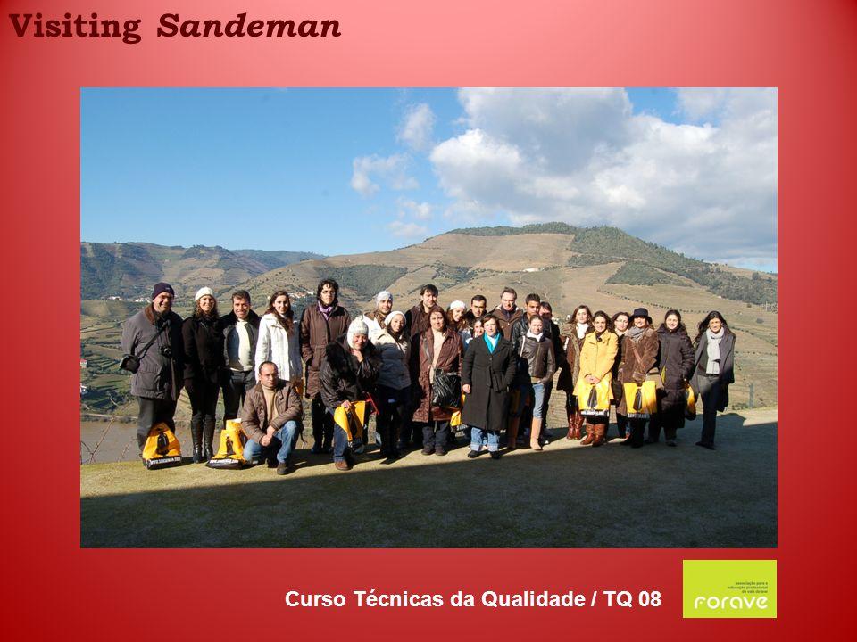 Visiting Sandeman Curso Técnicas da Qualidade / TQ 08